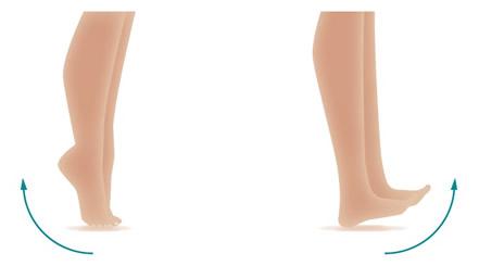op de tenen voor mooie benen zonder spataderen